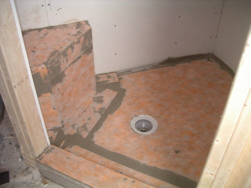 kerdi shower pan