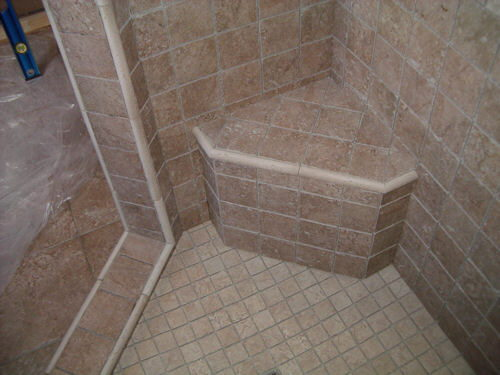 How To Build A Ceramic Tile Showerpan Using Mortar Bed
